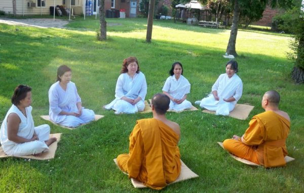 Meditation teaching at MBMC