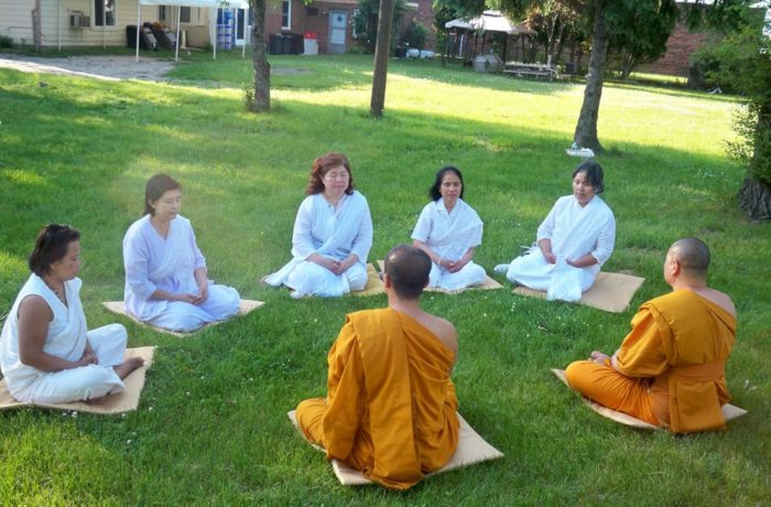 Meditation teaching at MBMC