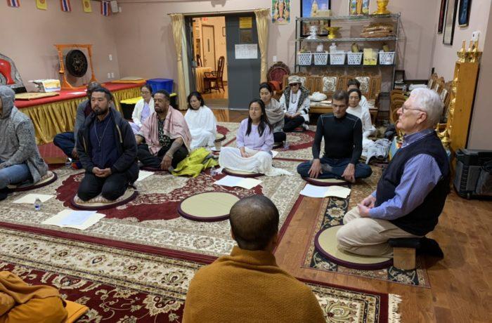 Meditation Instruction & Practice in English