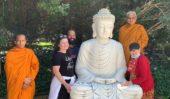 Marble Buddha donated