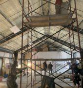 New building of Buddha Vihara Temple update